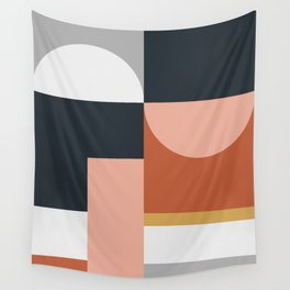 Abstract Geometric 09 Wall Tapestry