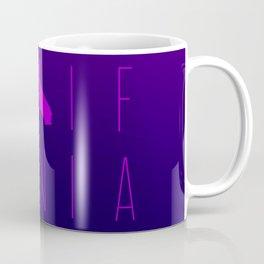 California Minimlaist Typography - Ultra Violet Coffee Mug