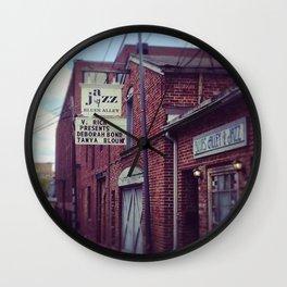 Blues Alley (Washington, DC) Wall Clock