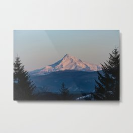 Mount Hood Oregon Pacific Northwest - Nature Photography Metal Print