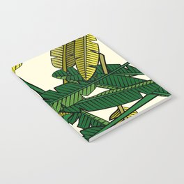 Botany: Banana Leaves Notebook