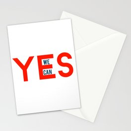 Yes we can Stationery Cards
