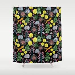 Leopard Tree Shower Curtain
