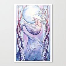 Deep Sea Mermaid Canvas Print