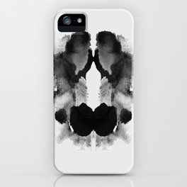Form Ink Blot No. 22 iPhone Case