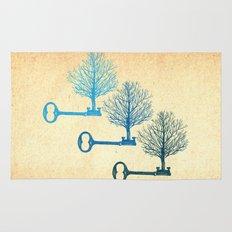 Tree Keys Rug