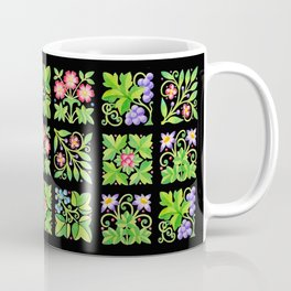 Tudor Flower Parterre Coffee Mug