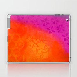 From orange to purple Laptop & iPad Skin