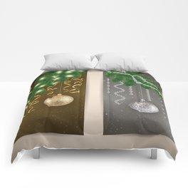 Christmas banners Comforters