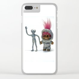 Besties Clear iPhone Case