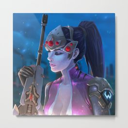 Widowmaker - Ouh La La Metal Print