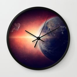Stranded Astronaut Wall Clock