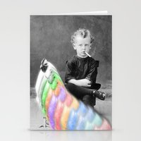 lsd Stationery Cards featuring LSD Chicken by Whiteashes