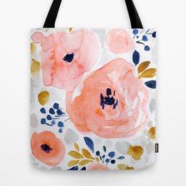Genevieve Floral Tote Bag