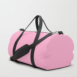 From The Crayon Box – Carnation Pink - Pastel Pink Solid Color Duffle Bag