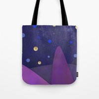 cabin Tote Bags featuring Cabin Fever by Olivia James