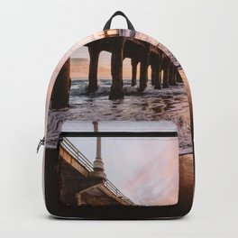 MANHATTAN BEACH PIER Backpack