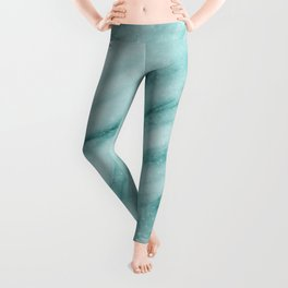 Audace Turchese green marble Leggings