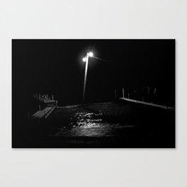 Atitlán nocturno. Canvas Print