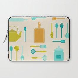 AFE Kitchen Utensils Pattern II Laptop Sleeve