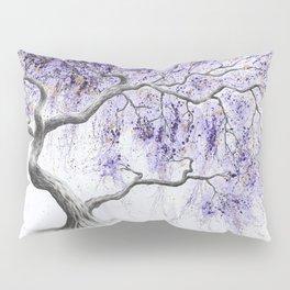 Purple Prosperity Tree Pillow Sham