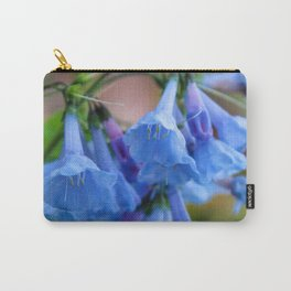 Pop of Blue Carry-All Pouch