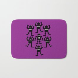 Surrounded by Idiots Bath Mat
