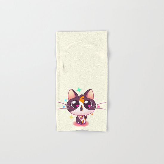 Kitty Love Hand & Bath Towel