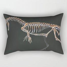 Dilophosaurus Wetherilli Skeleton Study (No Labels) Rectangular Pillow
