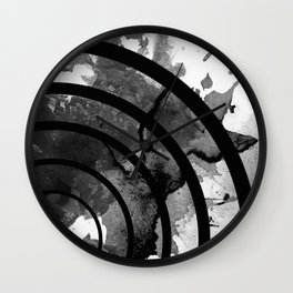 The Sound Of Black And White Wall Clock