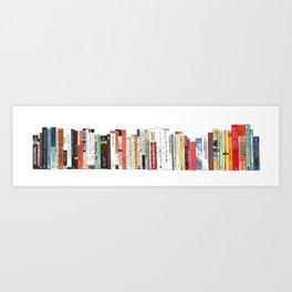 Top Shelf Books Art Print