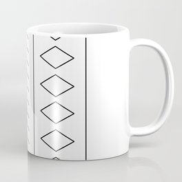 Black and White Geo Coffee Mug