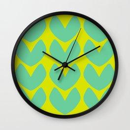 Heartfelt #1 Wall Clock