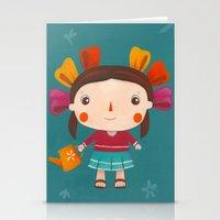lolita Stationery Cards featuring Lolita by Gabriela Granados