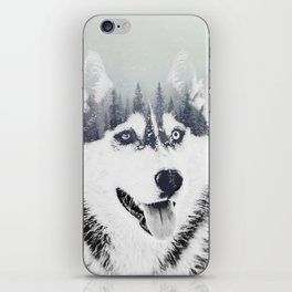 Huskie iPhone Skin