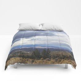 Horizon Lines Comforters