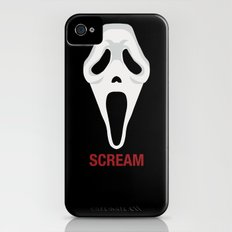 SCREAM iPhone (4, 4s) Slim Case