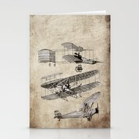 airplanes Stationery Cards featuring airplanes by Кaterina Кalinich