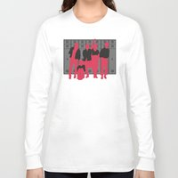 breakfast club Long Sleeve T-shirts featuring The Breakfast Club by FilmsQuiz