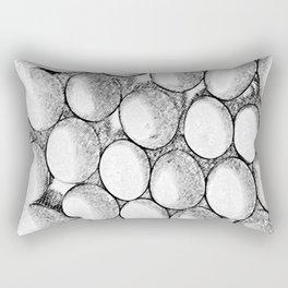 Two Dozen Eggs To Be Eggs Act Rectangular Pillow