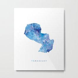 Paraguay Metal Print