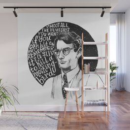 Atticus Finch Wall Mural