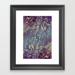 Flower Flip Framed Art Print