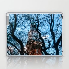 Building with Clock in Buenos Aires Laptop & iPad Skin