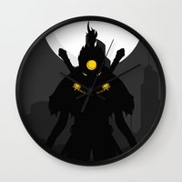 akira Wall Clocks featuring Akira Nakamura by Oblivion Creative