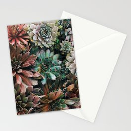 Succulent Party Stationery Cards