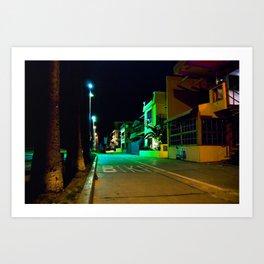 Venice Nights Art Print