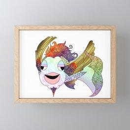 The Flying Bahamut Framed Mini Art Print