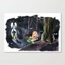 Snow White & The Huntsman Canvas Print