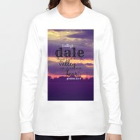 dale cooper Long Sleeve T-shirts featuring Dale by KimberosePhotography